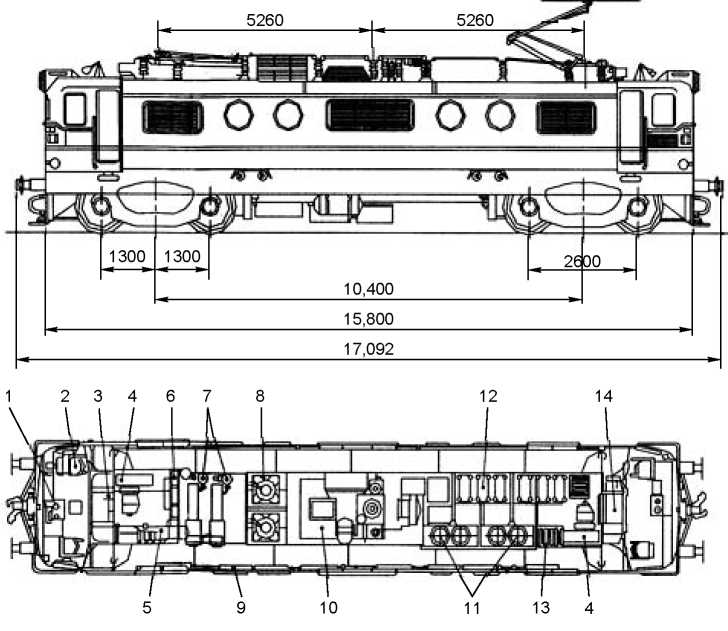 Electric locomotive WAG3